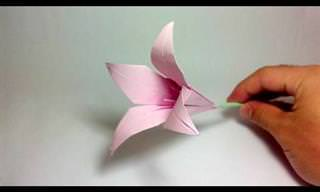 16 מדריכים ליצירת פרחים באוריגמי