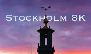כל היופי של שטוקהולם הציורית בסרטון נפלא באיכות 8K