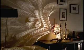 מנורות מרתקות שמקרינות אווירה על כל החפצים בבית