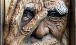 16 פסלי עץ מדהימים ומציאותיים להפליא