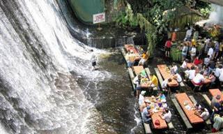 10 מסעדות מרשימות ומרהיבות במקומות לא שגרתיים ברחבי העולם