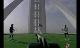 מגרש הטניס הגבוה ביותר בעולם