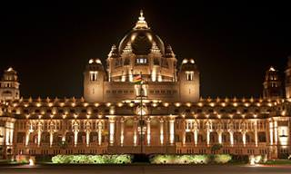 ארמון הודי שהפך למלון מפואר ומלא בקסם