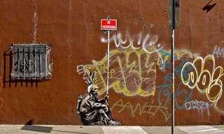 בנקסי: גדול אומני הגרפיטי בעולם
