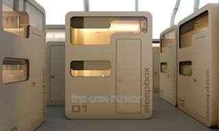 תאי השינה - המלון הנייד שניתן למקם בכל מקום!
