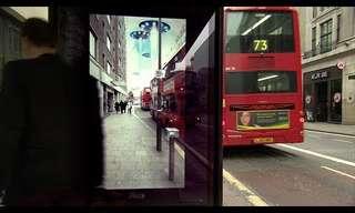 תחנת האוטובוס המפתיעה של פפסי