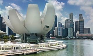 12 פלאי אדריכלות מודרניים מכל רחבי העולם