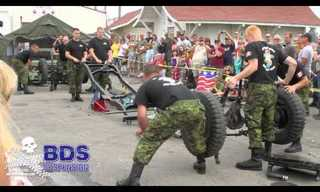 חיילים מפרקים ומרכיבים ג'יפ תוך 3 דקות