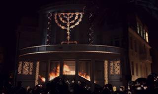 מופע אור-קולי ייחודי שהפך את מבני תל אביב לחגיגה של ממש