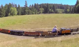 מודל הרכבת המדהים של טום מילר