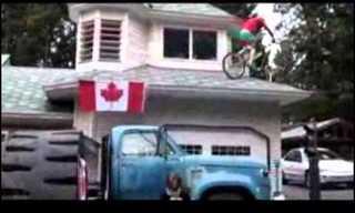 טריק מדהים עם אופניים!