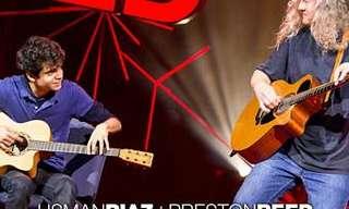 אוסמן ריאז ופרסטון ריד: מתופפים על גיטרה!