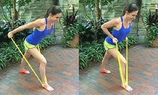 6 תרגילים נהדרים לחיטוב וחיזוק הזרועות בעזרת רצועת התנגדות