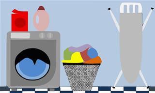 11 טיפים יעילים לכביסה וניקוי בגדים