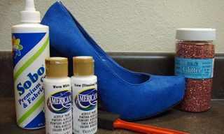 עשי זאת בעצמך: כך תוסיפי ניצוץ לנעל ישנה!
