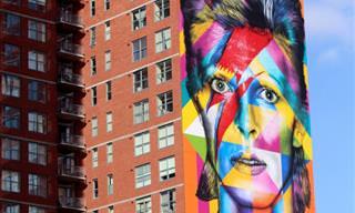 ציור על בניינים - הציורים הנפלאים של אדוארדו קוברה