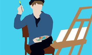 בחן את עצמך: הצבעים ביצירות הבאות יחשפו את סוג הגאון שבך