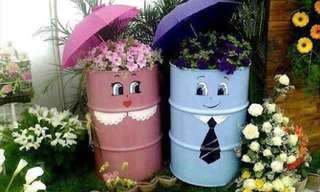 לגינה באהבה - 20 עיצובים מקוריים לחצר!