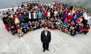 ראש המשפחה הגדולה בעולם