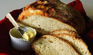 מתכון לחם פשוט במיוחד