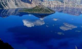אגם המכתש של אורגון
