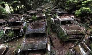 בית קברות למכוניות בבלגיה
