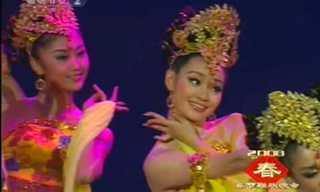 ריקוד הגחליליות הסיני - מופע מרהיב