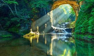 18 תמונות מדהימות של נופי טבע מרחבי העולם
