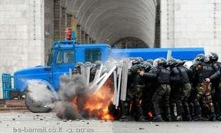 מהומות והפיכה שלטונית בקירגיזסטן