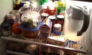 השיטה היעילה ביותר לארגון וסידור המקרר שלכם