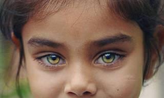 15 תמונות של ילדים עם עיניים יפהפיות