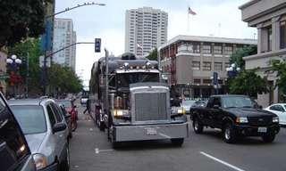 לימוזינת משאית מפוארת