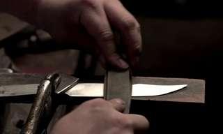 יצירת סכינים בעבודת יד - אמנות בקצב אחר!