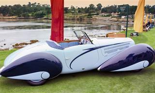 אומנות על גלגלים: 12 מכוניות פאר מרהיבות משנות ה-30