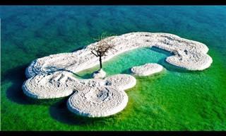 הסרטון הזה יזכיר לכם את היופי המדהים של ים המלח