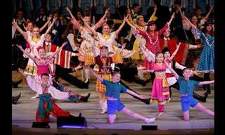 ריקוד הרעות - מופע מומלץ שמציג שילוב תרבויות שוחף