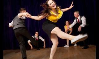מיטבי רקדני פסטיבל הסווינג במופע קצבי ומהנה