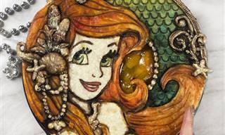 16 יצירות אמנות מפתיעות המעוצבות על עוגות פאי