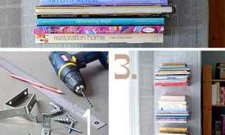 מדפי ספרים בעיצוב עתיק לבנייה ביתית