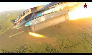 לראות את רוסיה ממטוס קרב - מדהים!