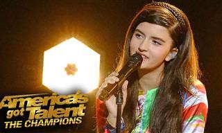 אנג'לינה ג'ורדן בת ה-13 בביצוע מדהים לרפסודיה בוהמית