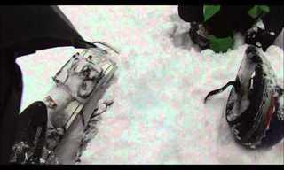 אדם נקבר בשלג ויצא בחיים בדרך נס