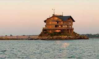 הבית על הסלעים - 360 מעלות של שקט