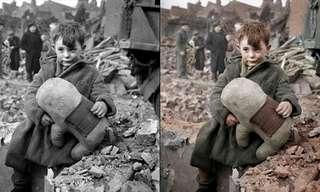 תמונות היסטוריות מקבלות צבע