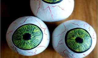 איך להכין כדורי ג'אגלינג בצורת עיניים?