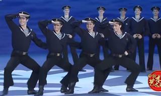 ביצוע מקסים ומקפיץ ליבלוצ'קו - ריקוד מלחים רוסי מסורתי