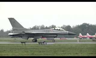 מי יותר מהיר, למבורגיני או מטוס F16?