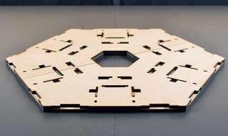 תהליך בניית מודל של בניין פאר