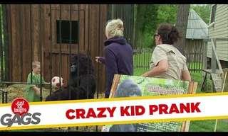 גן חיות זה לא משחק ילדים - מתיחה מצחיקה!