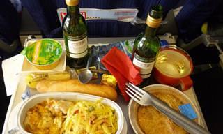 9 טיפים שכדאי לכם להכיר בנוגע לאוכל ושתייה במהלך טיסה